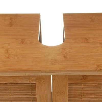 Bambus Waschtischunterschrank Bambusschrank 60 cm Breite ...