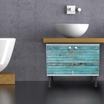 Banjado Design Waschbeckenunterschrank Mit Motiv 60 Cm Breite   Waschbecken  Unterschrank.net