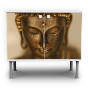 Buddha-Motiv-Waschtischunterschrank