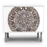 Maya-Motiv-Waschtischunterschrank