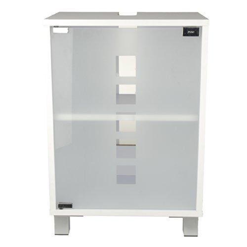 Waschtischunterschrank badm bel 40 cm breite waschbecken - Waschbeckenunterschrank stehend ...